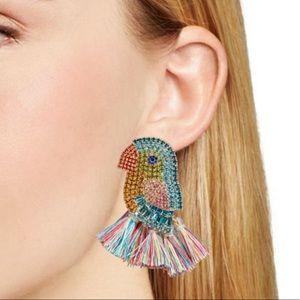 Jewelry - Fringe Parrot Studs